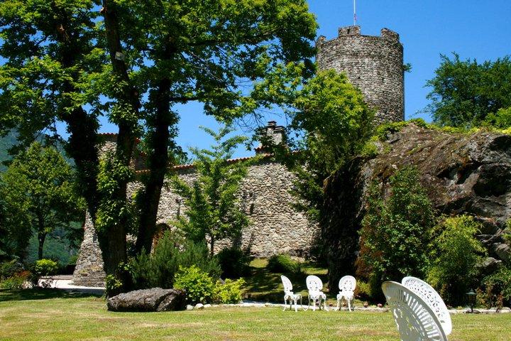 Le château de Feisson sur Isère