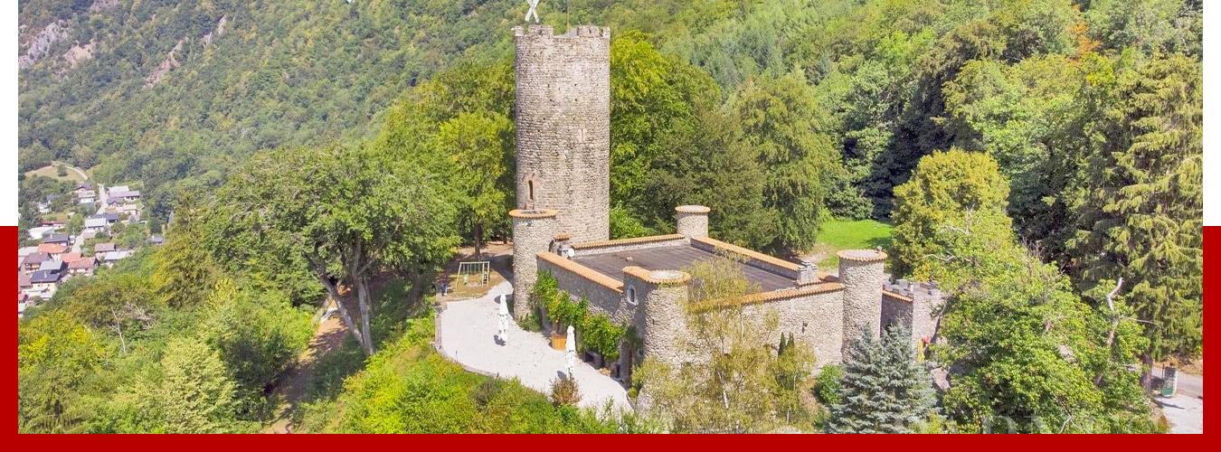 Le château de Feissons sur Isère
